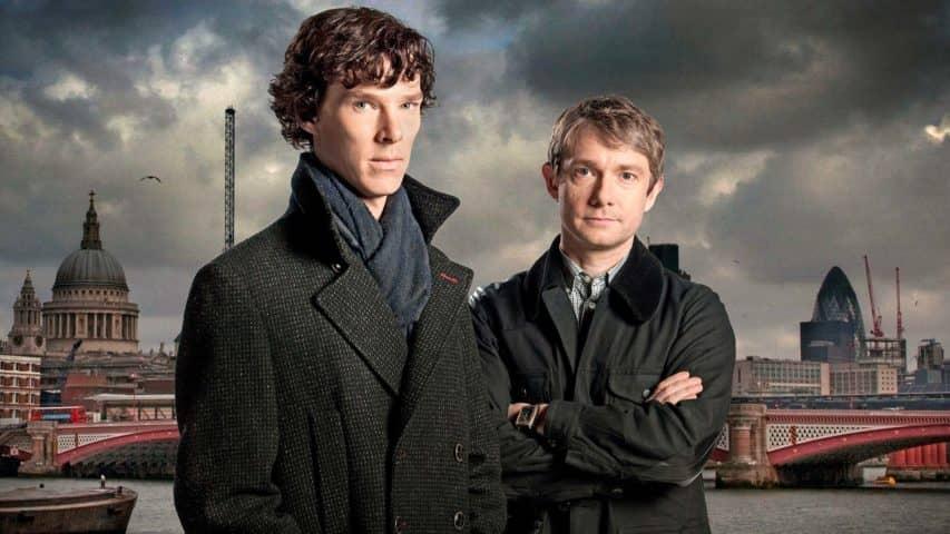 brytyjskie seriale sherlock holmes