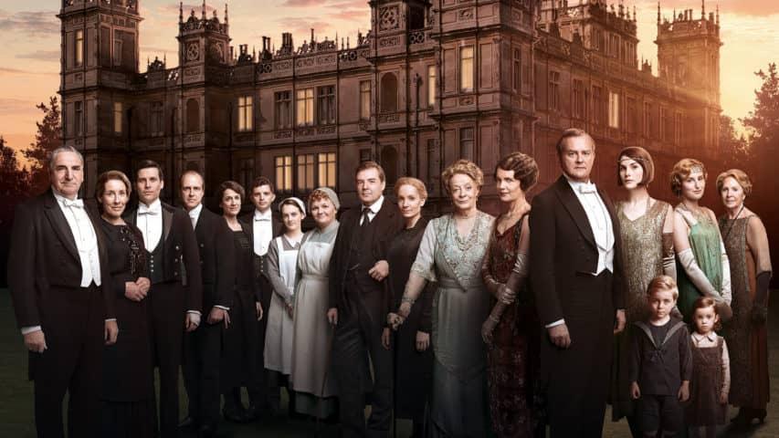 Brytyjskie seriale Downton Abbey