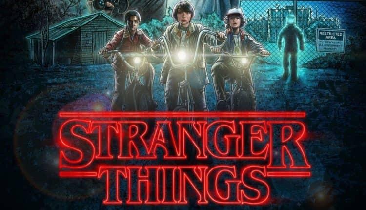 seriale Sci-Fi - stranger things