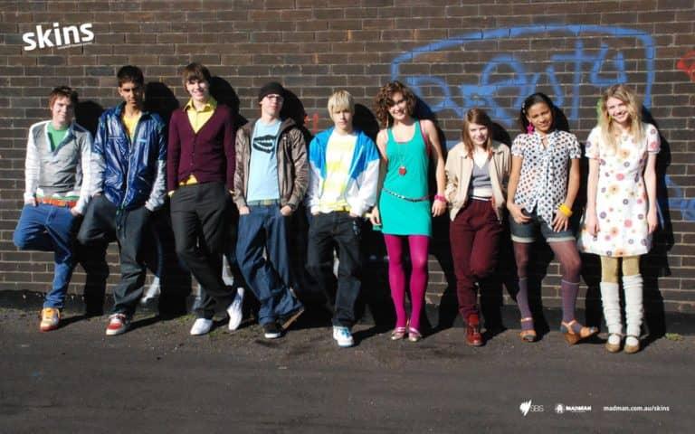 skins 2 - Seriale młodzieżowe dawniej i dziś - porównanie 14 produkcji