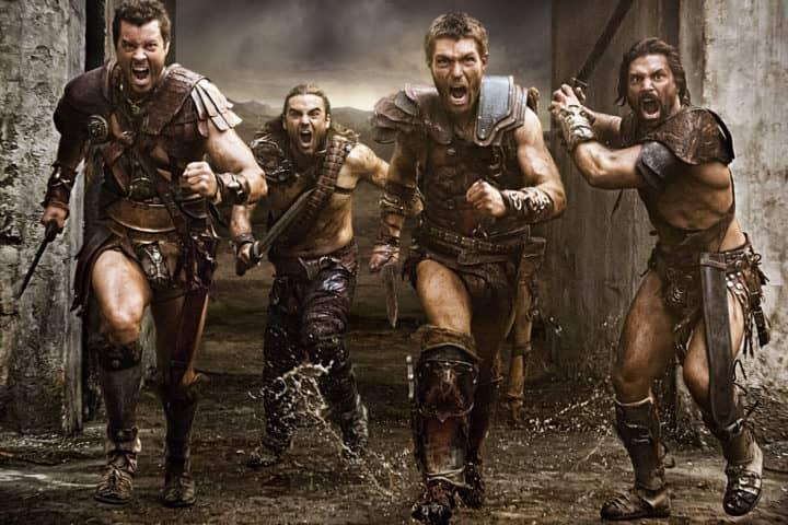 serial historyczny Spartacus