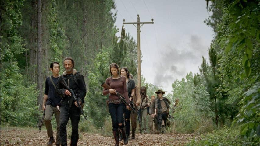 Najpopularniejszy serial o zombie: The Walking Dead