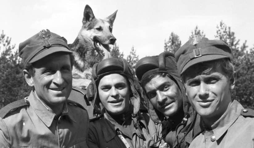 TOP 10 serial przygodowy: Czterej pancerni i pies