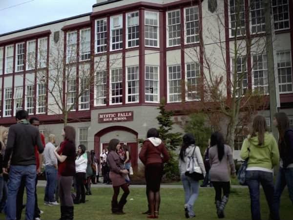 szkoły z seriali