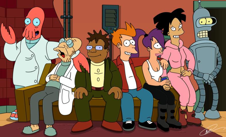 animowane seriale dla dorosłych futurama