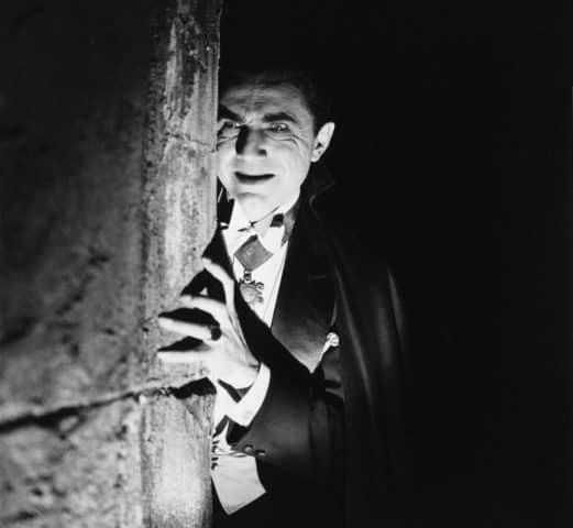 Béla Lugosi jako Dracula