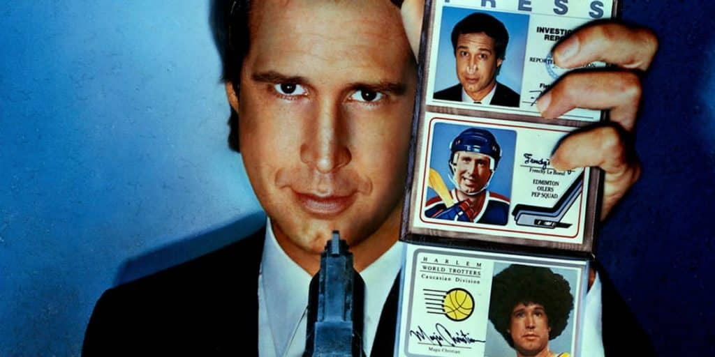 Fletch Movie Poster With Chevy Chase