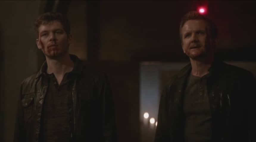klaus and dad