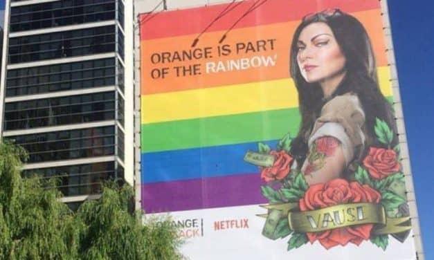 Netflix murem…. muralem stoi za Marszem Równości