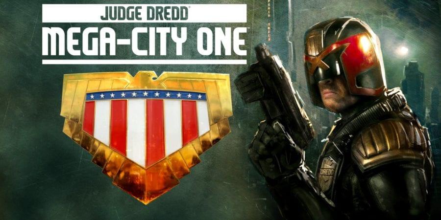 Judge Dredd Mega City One TV show wallpaper