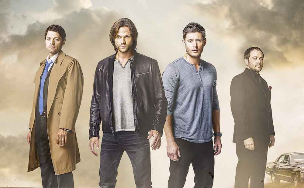 supernatural season12 poster