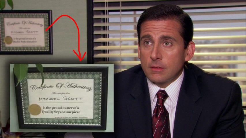 serialowe biura The Office