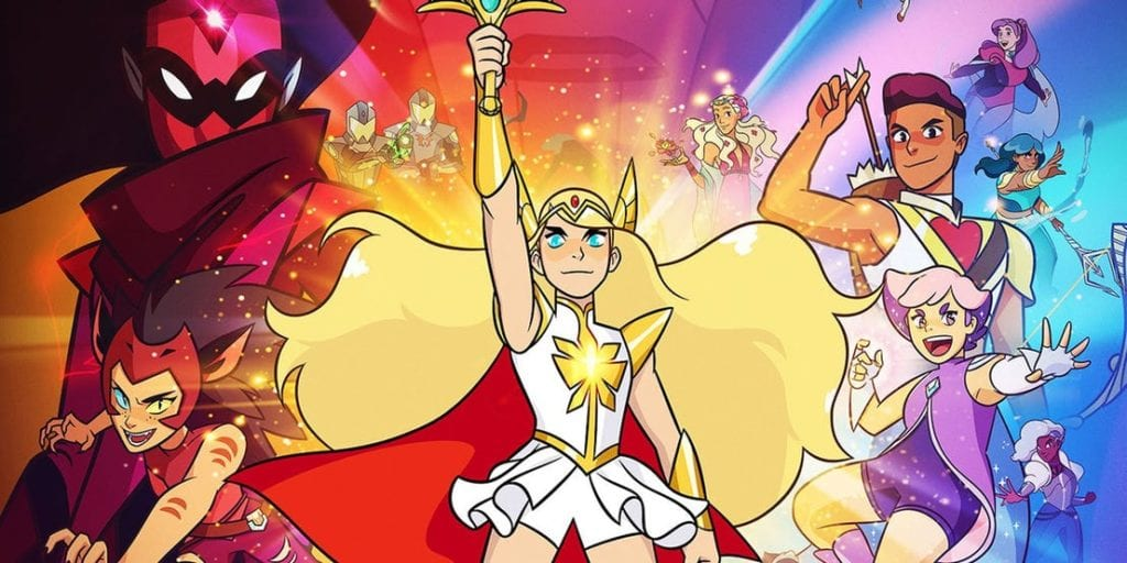 She Ra Princesses of Power TV Show Poster