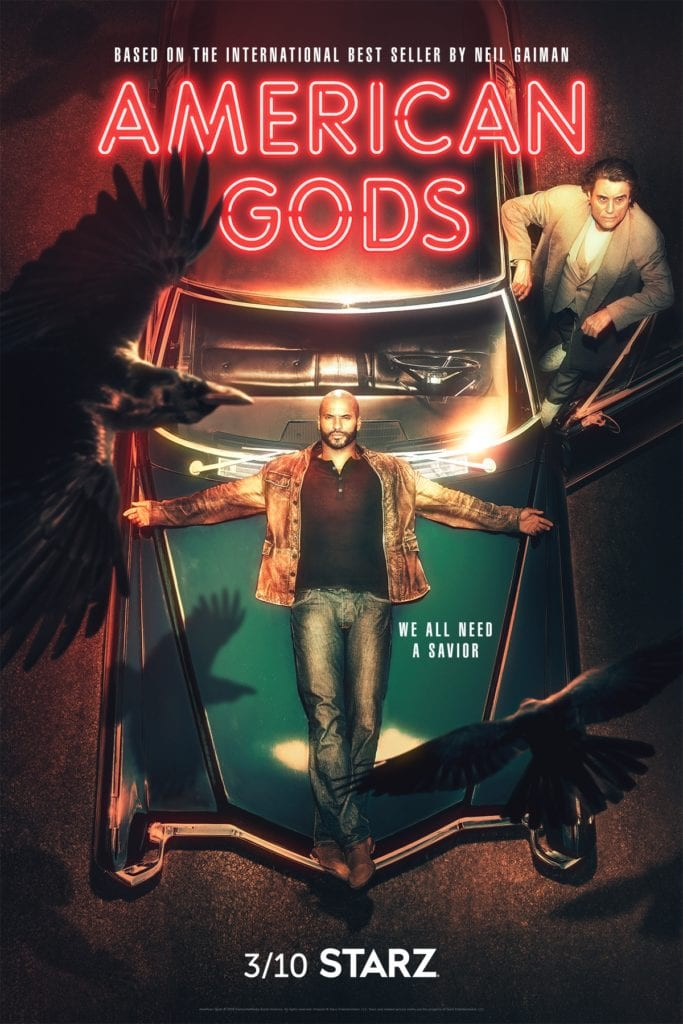 American Gods sezon 2 plakat