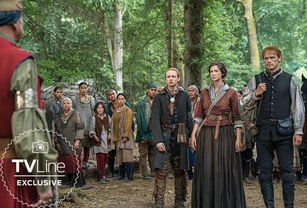 outlander first look