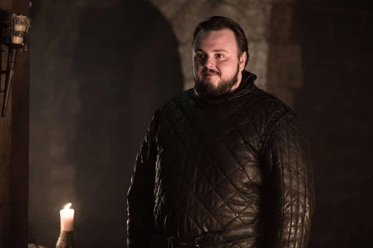 Game of Thrones Season 8 Samwell Tarley