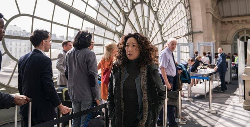 Sandra Oh in Killing Eve Season 2 BBC America