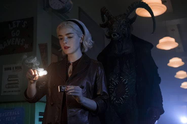 chilling adventures of sabrina season 2 dark lord