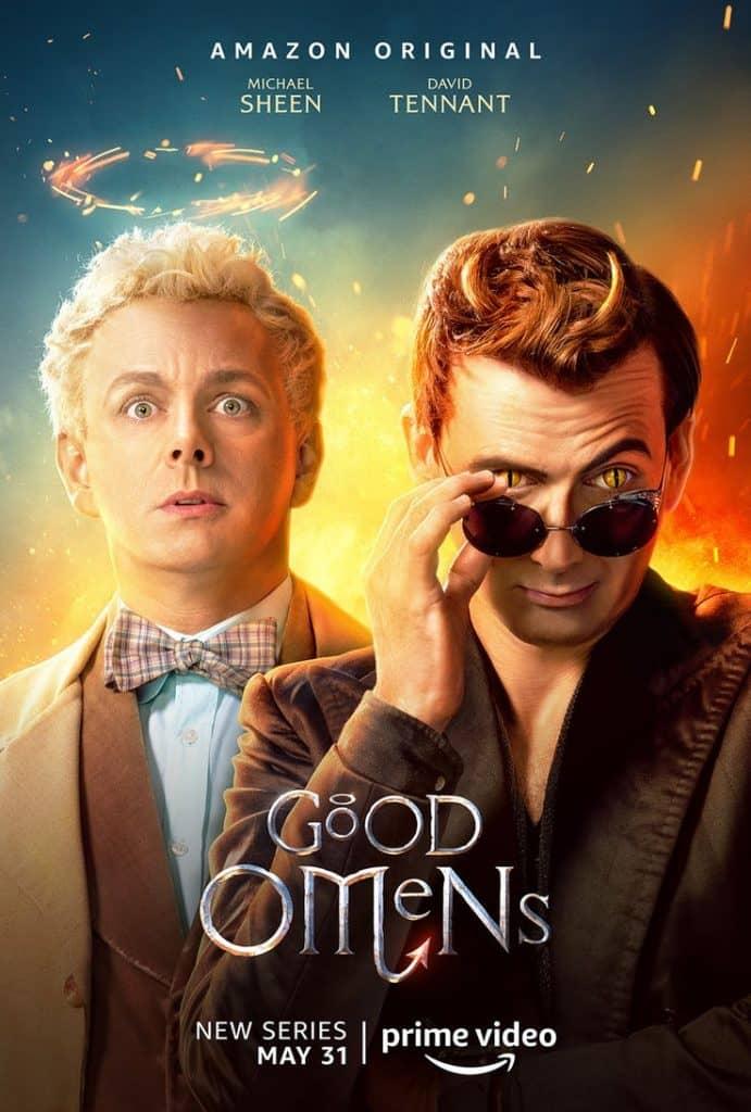 good omens poster amazon prime