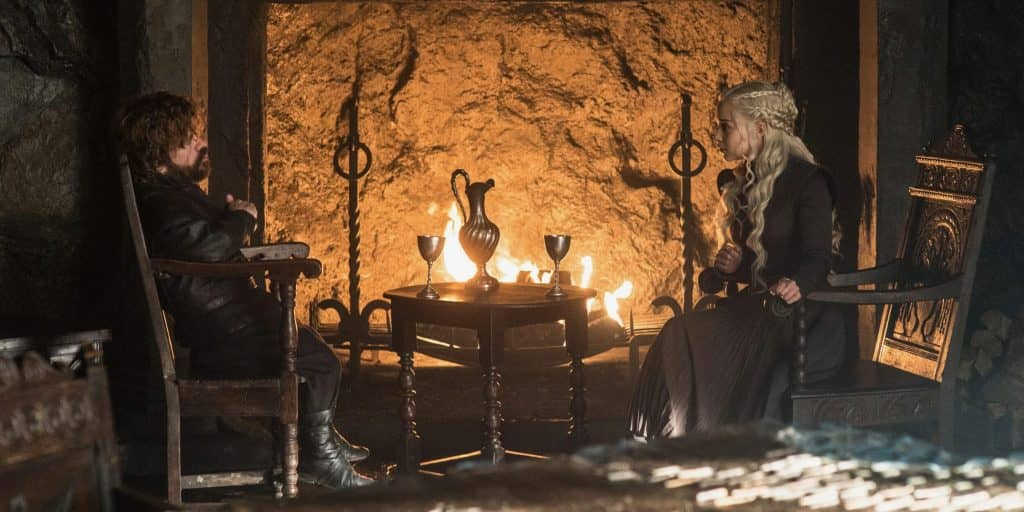 game of thrones dany tyrion