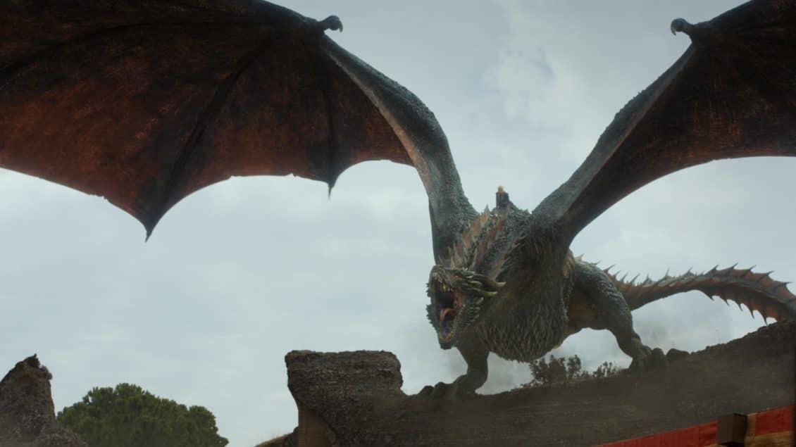 game of thrones season 7 episode 7 dragon
