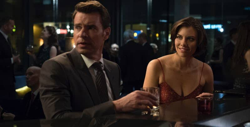 scott foley and lauren cohan in whiskey cavalier abc