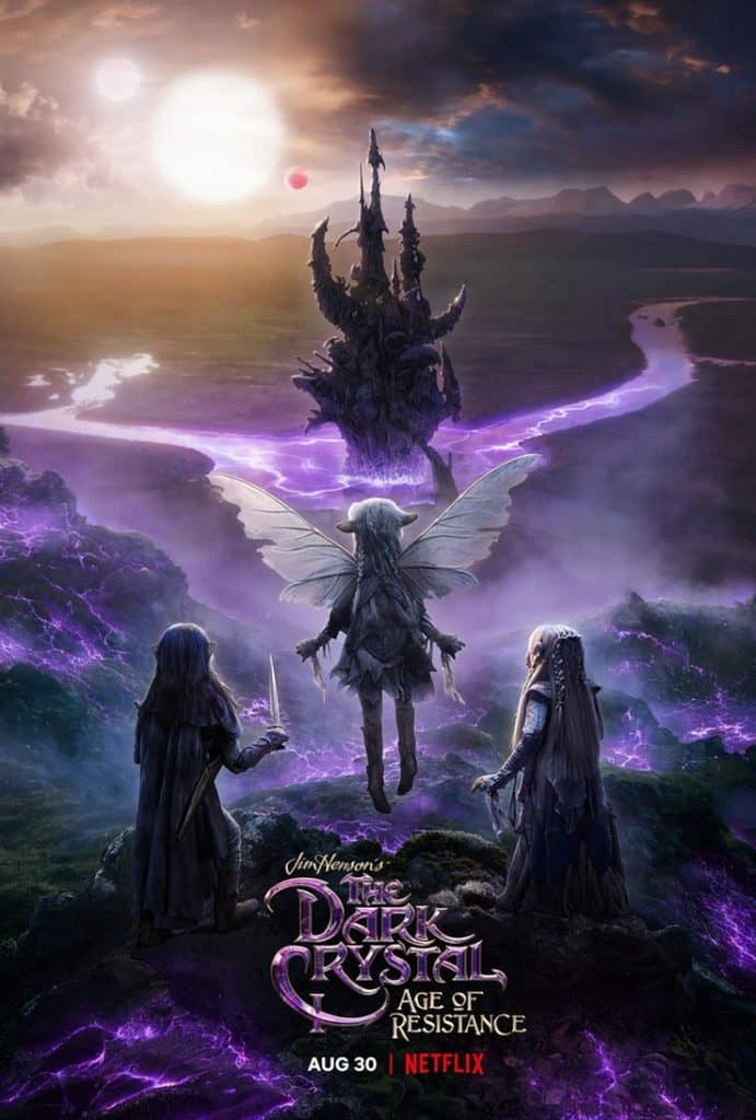 the dark crystal age of resistance poster 691x1024