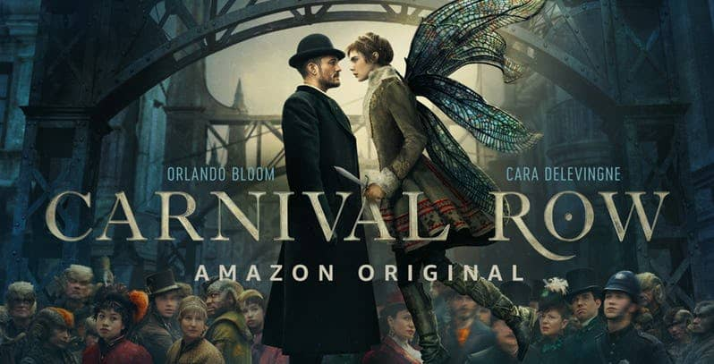 orlando bloom cara delevingne in carnival row amazon prime