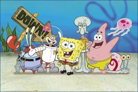 Kultowa bajka spongebog