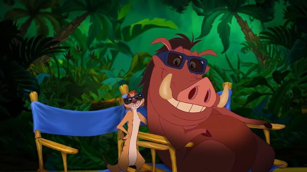 Seriale na podstawie filmów: Timon i Pumba