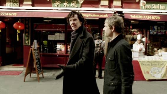 Sherlock Holmes Chinatown