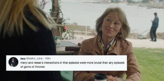 Maryl Streep Wielkie kłamstewka HBO