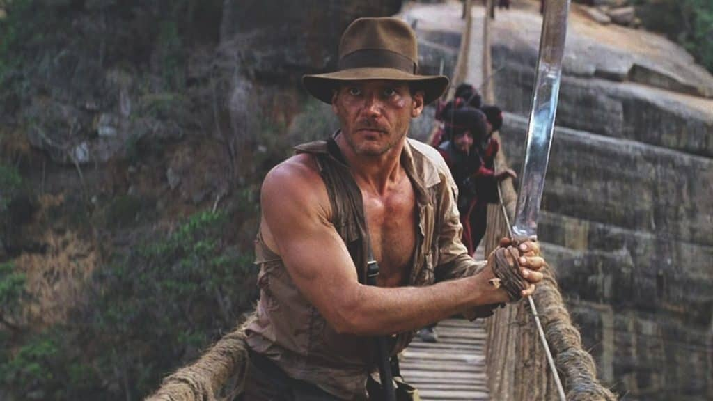 indiana jones and the temple