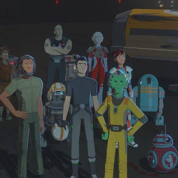 star wars resistance season 2 cast
