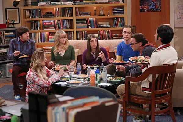 the big bang theory the table polarization