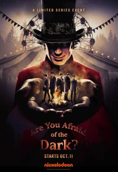 are you afraid of the dark nickelodeon poster