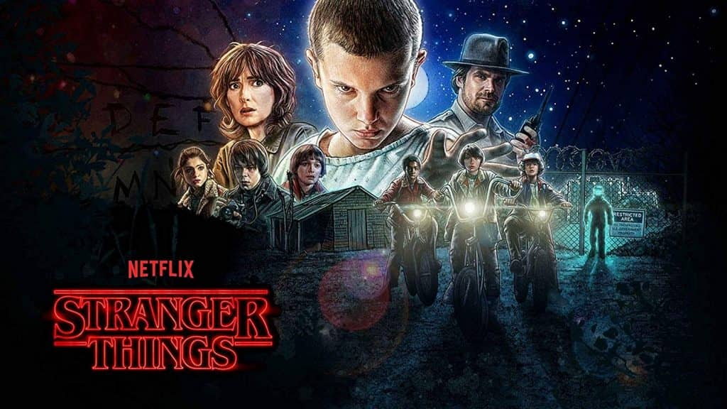 pierwszy sezon stranger things