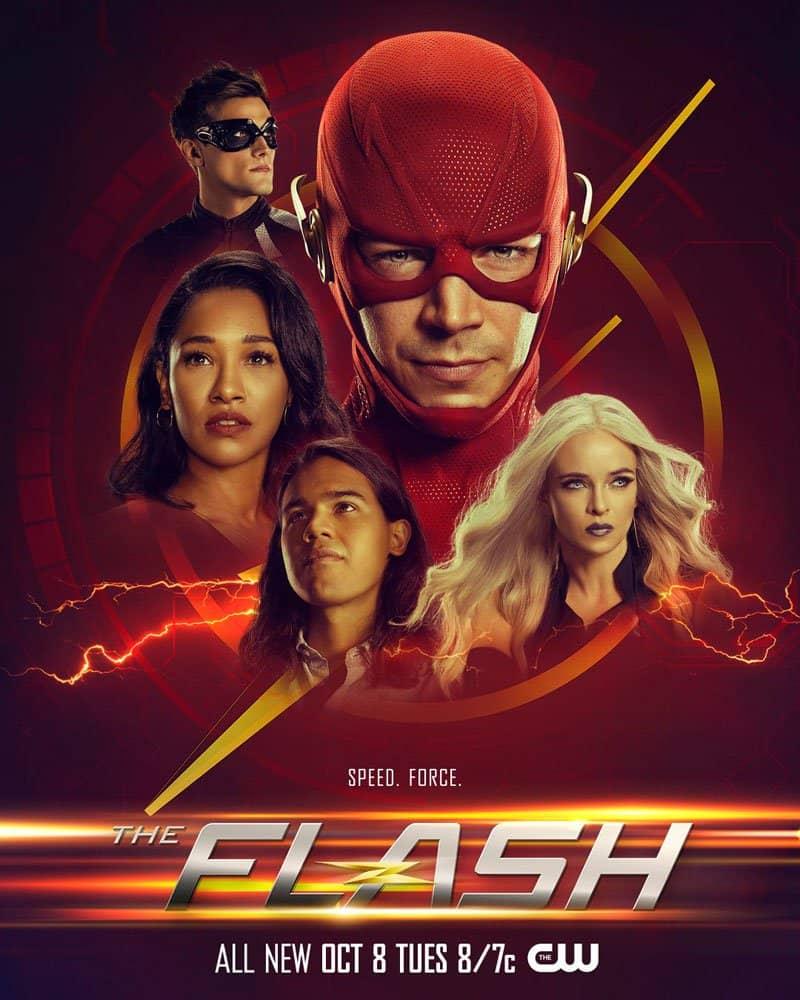 the flash season 6 poster