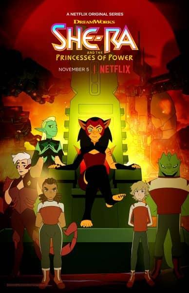 she ra season 4 catra poster