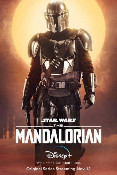 the mandalorian poster pedro pascal