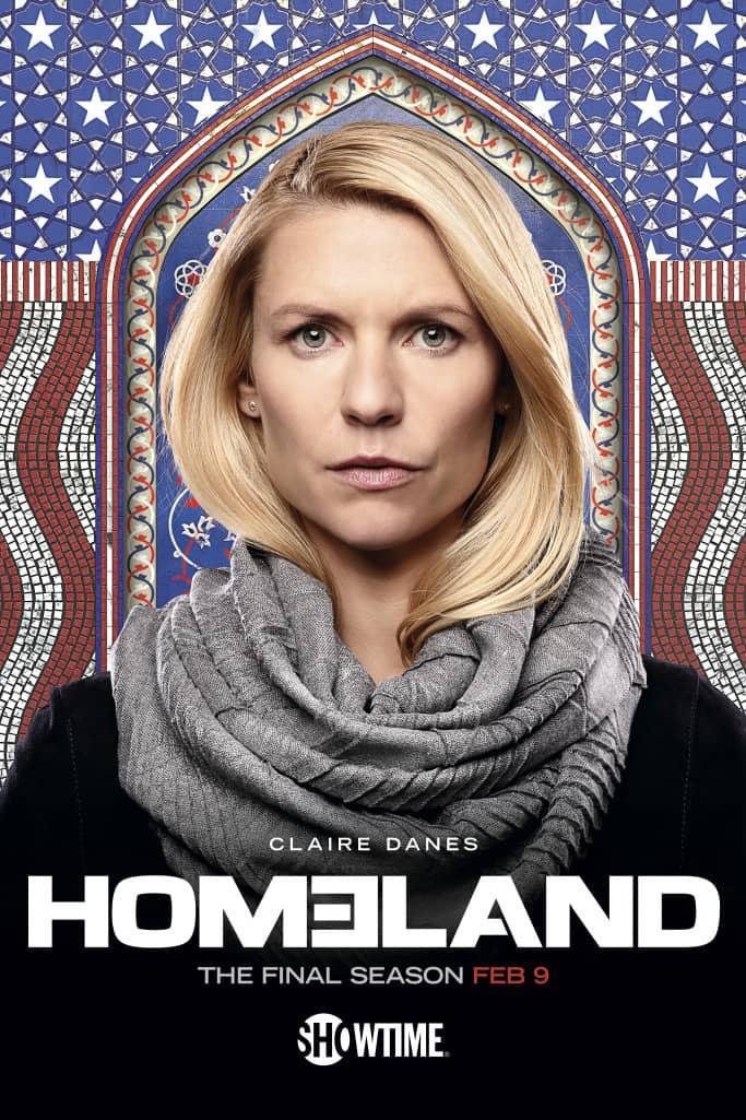 homeland season 8 poster key art