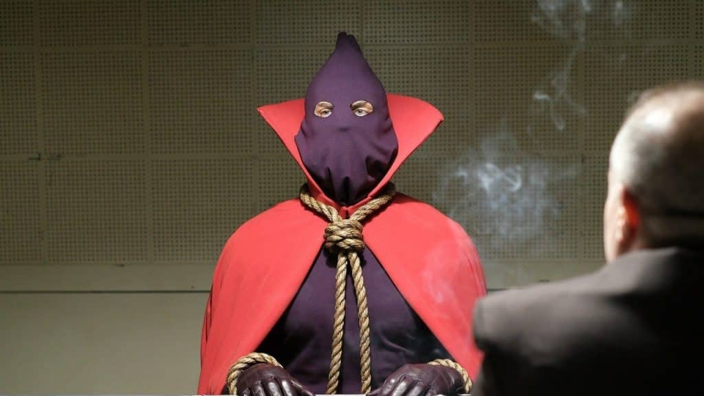 watchmen hooded justice