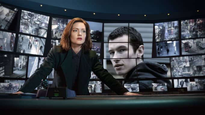 first look at holliday grainger and callum turner in bbc ones the capture coming later this year