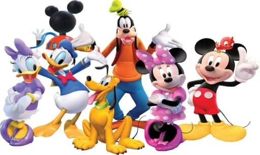 klub przyjaciol myszka miki disney mickey