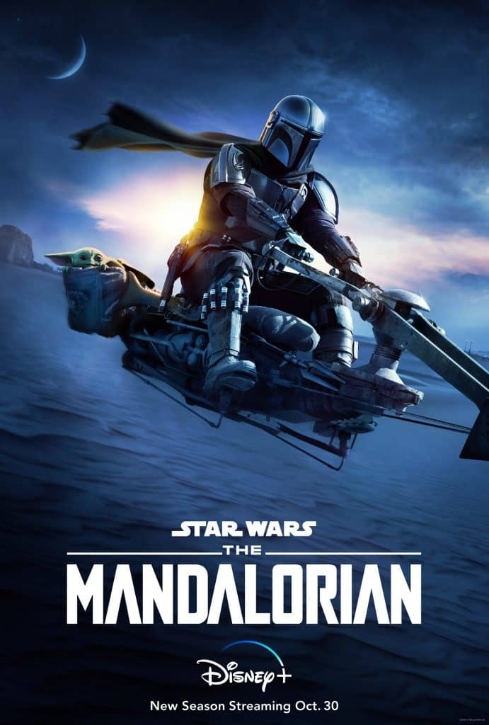 the mandalorian 2 poster