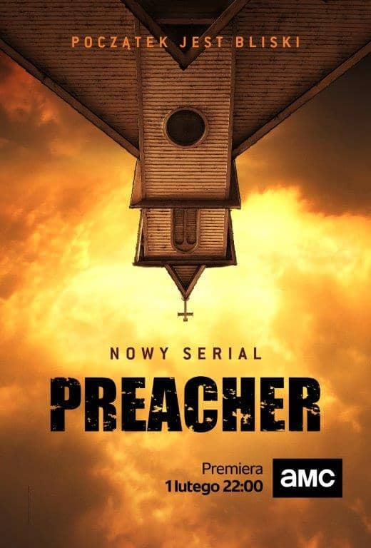 preacher premiera plakat do serialu