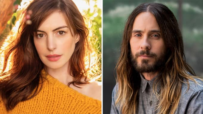 anne hathaway jared leto