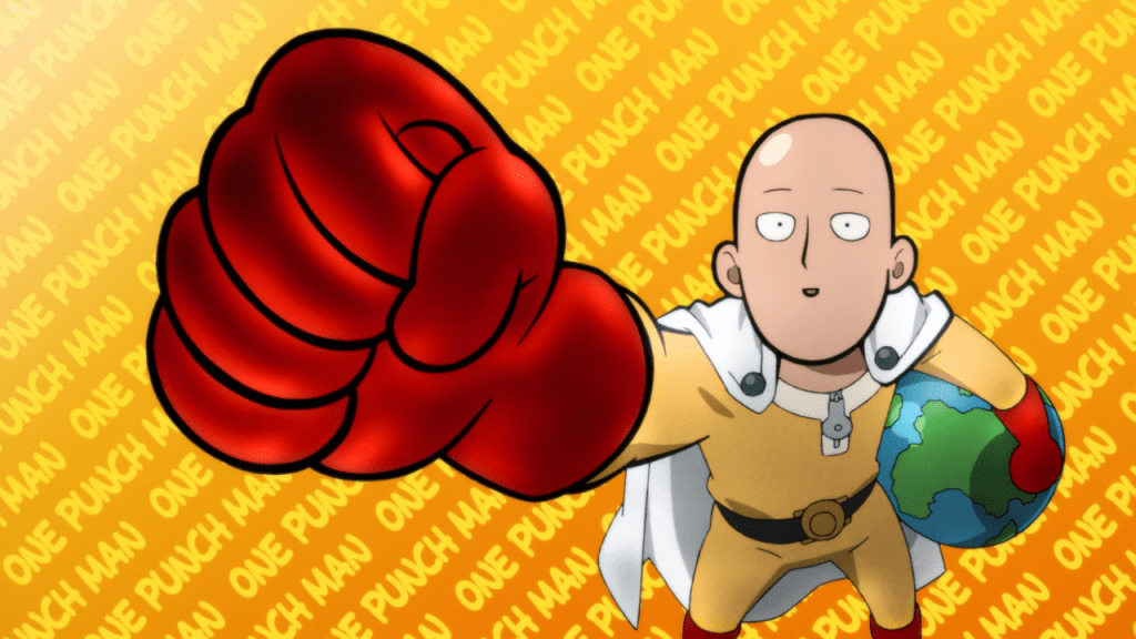 0ne punch man