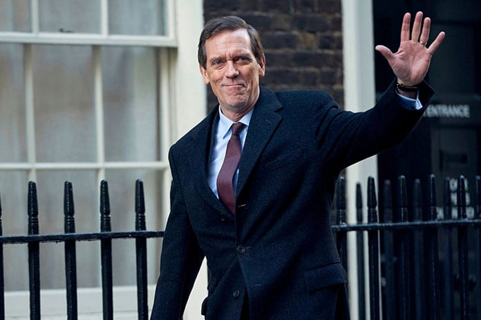 hugh laurie adapting christies evans
