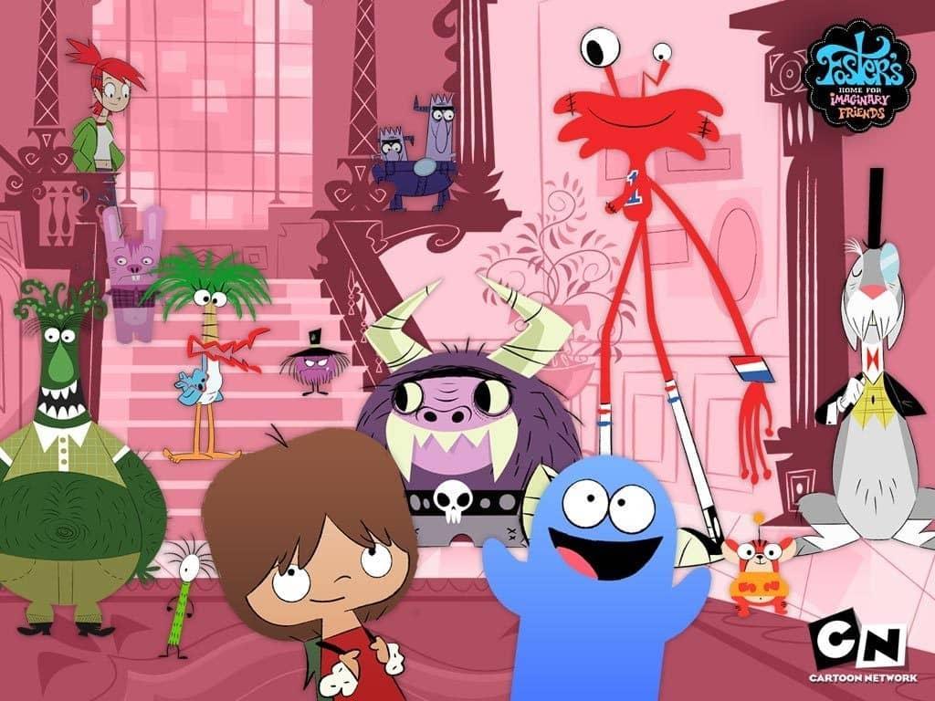 Kreskówka Dom dla zmyślonych przyjaciół pani Foster